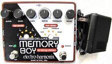 Used Electro-Harmonix EHX Deluxe Memory Boy Analog Delay Tap Tempo Effect Pedal!