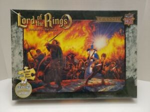 New Master Pieces Lord Of The Rings Journey In Dark Jumbo E-Z Grip Puzzle 300pc