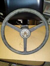 Daewoo/Caterpillar Steering Column & Wheel for CharLynn Orbitrol