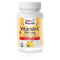 Vitamin C 1000 mg 120 Kapseln  Premium hochdosiert, 100% Nau 2020 in Deutschland