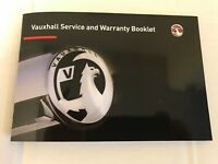 GENUINE-VAUXHALL-SERVICE-HISTORY-BOOK-FOR-PETROL-AND-DIESEL NOT DUPLICATE 999