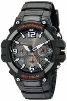 Casio MCW-100H-1A Analog Mens Watch Chronograph Heavy Duty 100M WR MCW-100 Diver