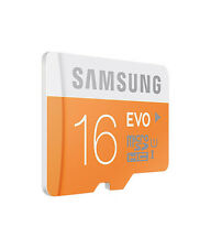 SAMSUNG 16 GB MICRO SD MEMORY CARD EVO CLASS 10 + BILL+10 YR Warranty