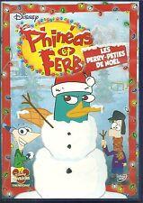 DVD - WALT DISNEY : PHINEAS ET FERB : LES PERRY-PETIES DE NOËL / COMME NEUF