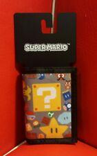 Official Nintendo Wallet, Super Mario. NES SNES 64. Trifold, BRAND NEW, Bioworld