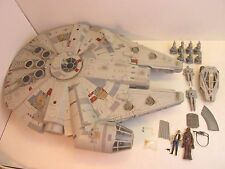 100% COMPLETE star wars LEGACY MILLENNIUM FALCON chess pieces missiles legs R19