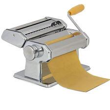 "Pasta Maker Roller Machine 7"" Dough Making Fresh Noodle Maker Stainless Steel"