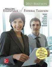 McGraw-Hill's Essentials of Federal Taxation, 2015 Edition