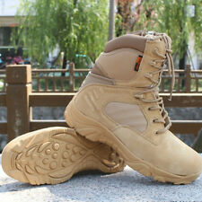 Men Military Tactical Boots Desert Combat Army Hiking Travel Botas Shoes Size