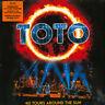 TOTO TOTO 40 TOURS AROUND THE SUN TRIPLO VINILE LP 180 GRAMMI COLORATO ARANCIONE