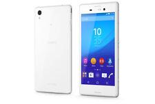 Sony Xperia M4 Aqua 8GB 4G Android Slim Smartphone (WHITE) (UNLOCKED)(GRADE A)