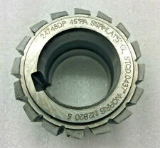 Gear cutting hob 24/48 DP 45 pa manufactured by Norris