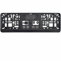 1 x kurz Kennzeichenhalter 46 cm schwarz Nummernschildhalter 460 x 110 mm NEU