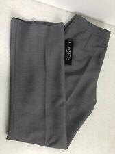NWT Kasper Separates Womens Gray Career Pants Size 6
