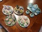 miniature+tea+set+porcelain+lot