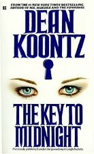 The Key to Midnight - Dean Koontz PB GC Terrifying nightmares of her past