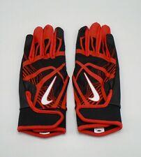 Nike HyperDiamond Edge Batting Gloves Red/Black/White Women's Large