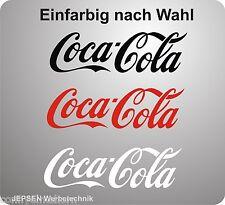Coca cola pegatinas para nevera coche rueda... 10x3cm monocromática según preferencias