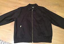 Ashworth Golf Jacket Black, Size Medium, 100% Cotton