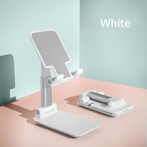 Foldable Phone Stand, Angle & Height Adjustable Desktop Phone Holder, 3 Colors