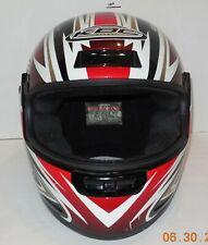 KBC Moto Design Viper Full Face Motorcycle Helmet size l 59-60cm Snell