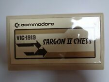 COMMODORE VC-20 / VIC-20 --> SARGON II CHESS (VIC-1919) / CARTRIDGE