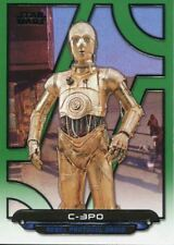 Star Wars Galactic Files Reborn Green Parallel Base Card ANH-2 C-3PO