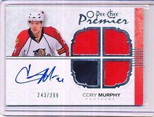 2007/08 OPC PREMIER CORY MURPHY AUTO JERSEY 243/299