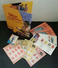 Malaysia's Fashion Heritage 2002 Costume Baba Nyonya FDC (folder set) MNH *rare