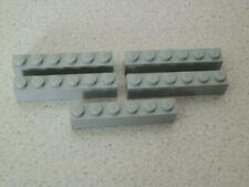 Lego 3009# 5x Basic 1x6 hoch  in grau neu hellgrau 10182 10188 75159