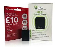 Voice Listening Device Room Spy Bug - Secret Hidden Wireless Audio - LISTEN LIVE