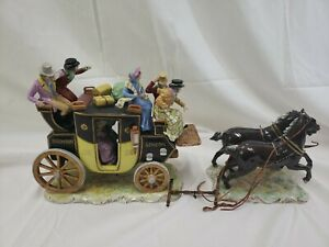 Germany Dresden Porcelain Carriage