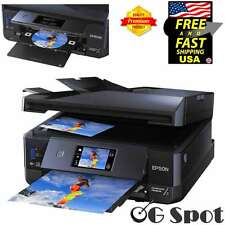 Epson Wireless All-In-One Premium Photo Scanner Printer Printable CD/DVD Disc