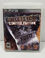 Bulletstorm Limited Edition (Sony PlayStation 3 2011) Complete w/ Manual PS3