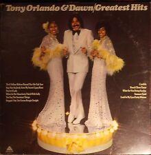 Tony Orlando & Dawn Greatest Hits 1975 Vinyl LP Arista Records AL-4045