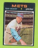 1971 Topps  - Tom Seaver (#160)  New York Mets  TG  Touched Up?