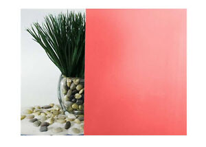 """Cherry Red Frosted Window Film 30"""" Wide x 25 ft. Roll"""