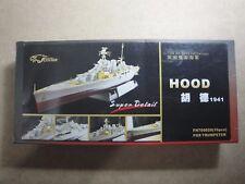 Hood Royal Navy Battlecruiser 1/700, fotograbado de FlyHawk para Trumpeter