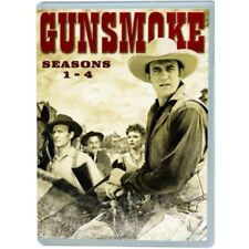 Gunsmoke Complete Seasons 1-4 DVD 1 2 3 4 Country Western TV Series Brand NEW