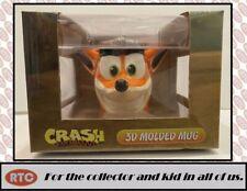 Crash Bandicoot - Ceramic 3D Molded Mug