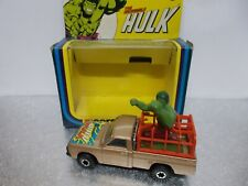 corgi 264 the incredible hulk pickup truck boxed vintage 1979