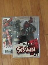 The Art of Spawn Series 27 Issue 131Cover Art Figure - McFarlane Toys - SEALED!