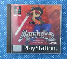 Alundra 2 (Sony PlayStation 1, 2000, Keep Case)