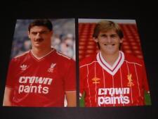 LIVERPOOL FC LEGENDS KENNY DALGLISH & IAN RUSH PHOTOGRAPHS