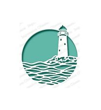 LIGHTHOUSE CIRCLE DIE-Impression Obsession/IO Stamps (DIE548-Z)-Ocean/Sea
