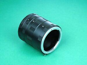 Macro Extension Tube Ring Nikon F for Nikon D3400, D3300, D3200, D3100, D3000