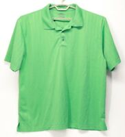 Men's PGA Tour Golf Polo Green Short Sleeve Shirt XXL 2XL