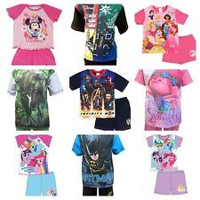 Culotte Pijama Niño Niña Infantil Corto Pijama 12 Meses-12 Años