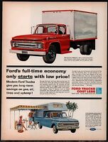 1962 FORD Styleside Pickup and Medium Box Truck AD