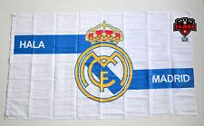 Real Madrid Flag Banner 3x5 ft White Spain Futbol Soccer Bandera Hala Madrid
